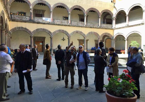 Visite de l'ex-couvent San Bernardino de Siena, à Xochimilco - JPEG